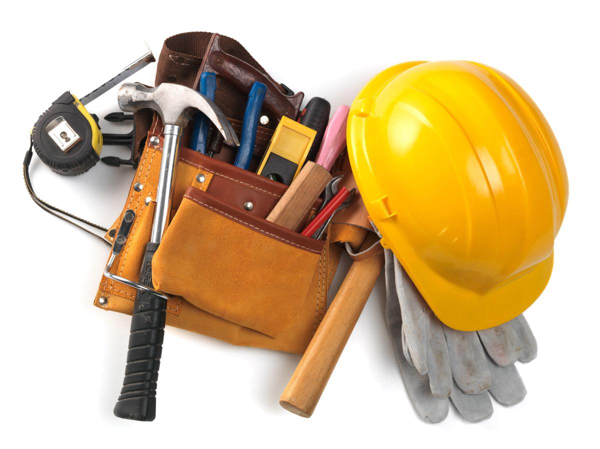 statybų įrankiai