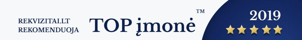 DISEMA.lt TOP įmonė 2019 Rekvizitai.lt